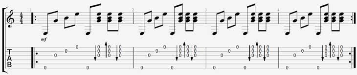 Арпеджио и аккорды