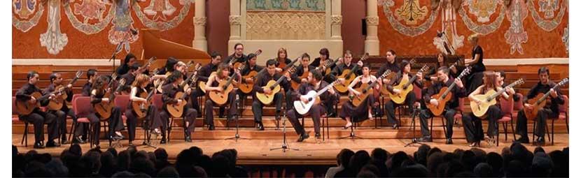 Концерт ансамбля гитаристов