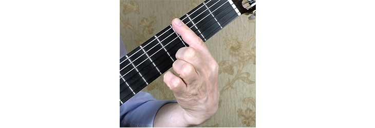 Большое баррэ на гитаре